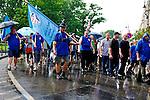 110606 Budapest Police Demo