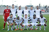 New England Revolution starting eleven.   The New England Revolution defeated DC United 3-2 in US Open Cup match , at the Maryland SoccerPlex, Tuesday  April 26, 2011.