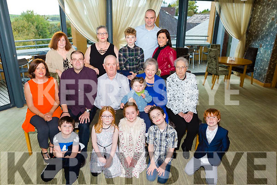 Celebrating 50th Wedding Anniversary of Mossie and Carmel at Ballyroe Heights Hotel on Saturday