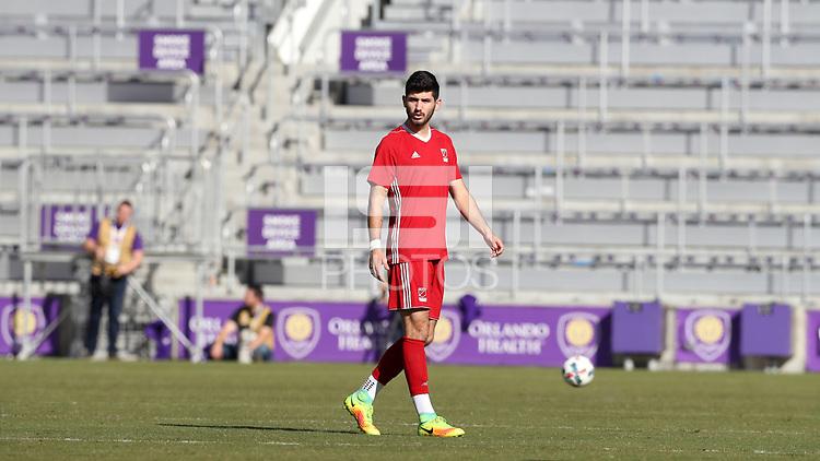 Orlando, Florida - Wednesday January 17, 2018: Jon Bakero. Match Day 3 of the 2018 adidas MLS Player Combine was held Orlando City Stadium.