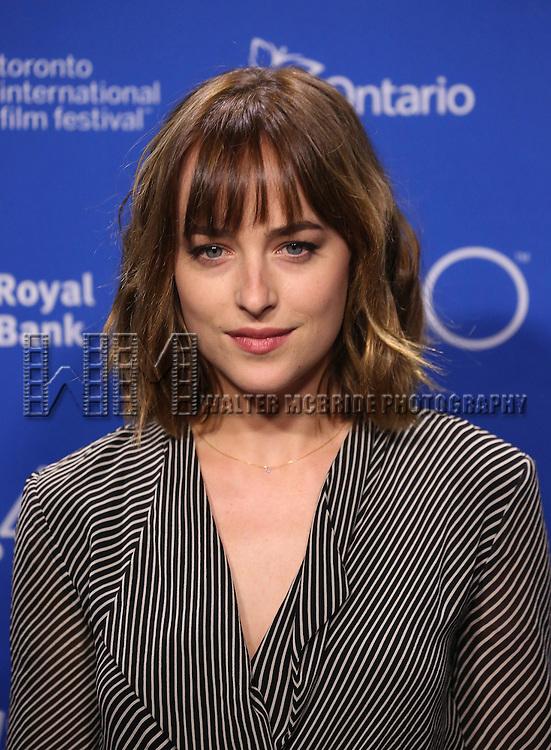 Dakota Johnson attends the 'Black Mass' photo call during the 2015 Toronto International Film Festival at Roy Thomson Hall on September 14, 2015 in Toronto, Canada.