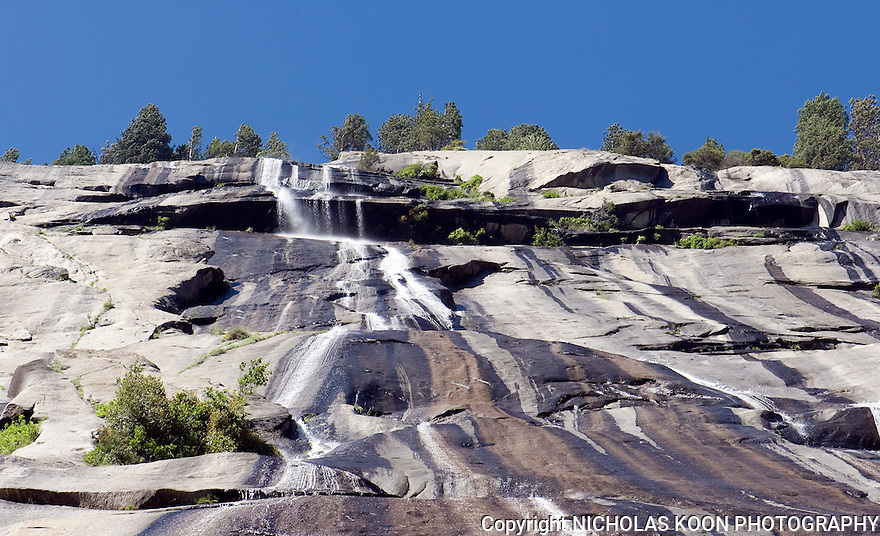 Royal Arches Cascade into the Devil's Hot Tubs, Yosemite - 2011