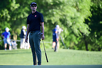 Adam Scott (AUS) watches his putt on 10 during round 2 of the Shell Houston Open, Golf Club of Houston, Houston, Texas, USA. 3/31/2017.<br /> Picture: Golffile | Ken Murray<br /> <br /> <br /> All photo usage must carry mandatory copyright credit (&copy; Golffile | Ken Murray)