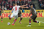 08.02.2019, RheinEnergieStadion, Koeln, GER, 2. FBL, 1.FC Koeln vs. FC St. Pauli,<br />  <br /> DFL regulations prohibit any use of photographs as image sequences and/or quasi-video<br /> <br /> im Bild / picture shows: <br /> Simon Terodde (FC Koeln #9), schiesst das 4:1<br /> <br /> Foto © nordphoto / Meuter