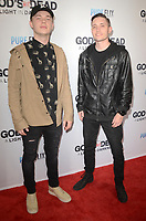 "LOS ANGELES - FEB 20:  Spencer Hendricks, Tre Wright at the ""God's Not Dead:  A Light in Darkness"" Premiere at the Egyptian Theater on February 20, 2018 in Los Angeles, CA"