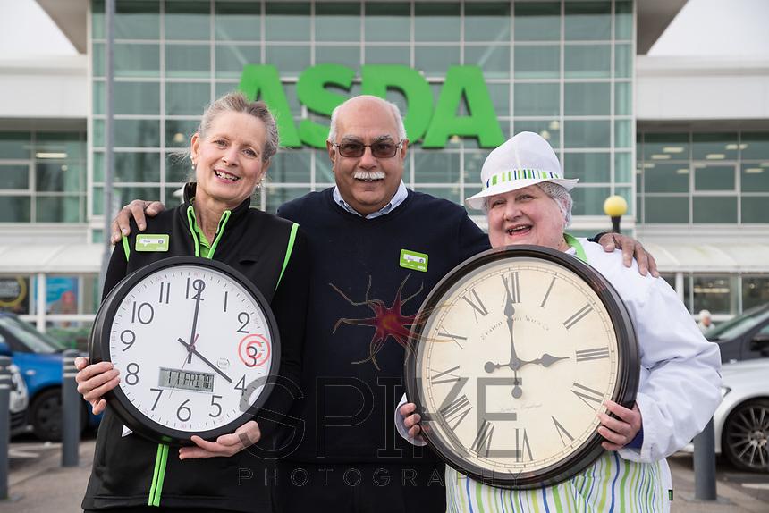 Pictured are Fran Byrne (left) Deputy Store Manager Steve Kanabar and Karen Turner