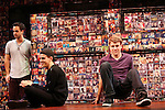 Michael Tacconi & Taylor Trensch & Jason Hite performing in the 'BARE' A first look preview at the New World Stages in New York City on 11/12/2012