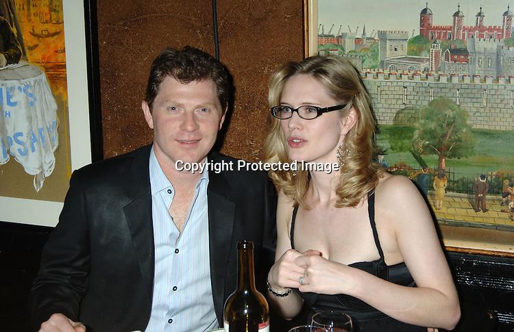 Bobby Flay and wife Stephanie March