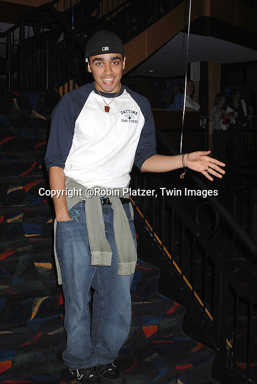 EJ Bonilla..at The Daytime Stars and Strikes Bowling Event benefitting The American Cancer Society on October 7, 2007 at ..Chelsea Piers Lanes. ..photo by Robin Platzer, Twin Images......212-935-0770