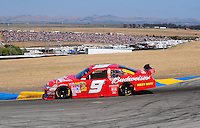 Jun. 21, 2009; Sonoma, CA, USA; NASCAR Sprint Cup Series driver Kasey Kahne during the SaveMart 350 at Infineon Raceway. Mandatory Credit: Mark J. Rebilas-