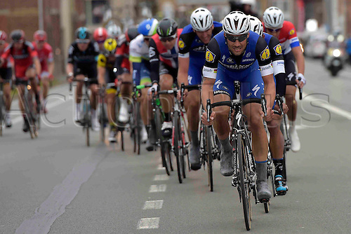 27.03.2016. Deinze, Belgium.  BOONEN Tom (BEL) Rider of ETIXX - QUICK STEP in action during the Flanders Classics UCI World Tour 78nd Gent-Wevelgem cycling race with start in Deinze and finish in Wevelgem