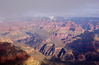 Grand Canyon National Park from Yavapai Point after fall storm.