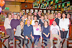 BIRTHDAY TIME: Geraldine Callaghan, Hawley Park, Tralee (seated centre) having a wonderful time celebrating her 60th birthday with family and friends at the Munster bar, Tralee on Sunday.