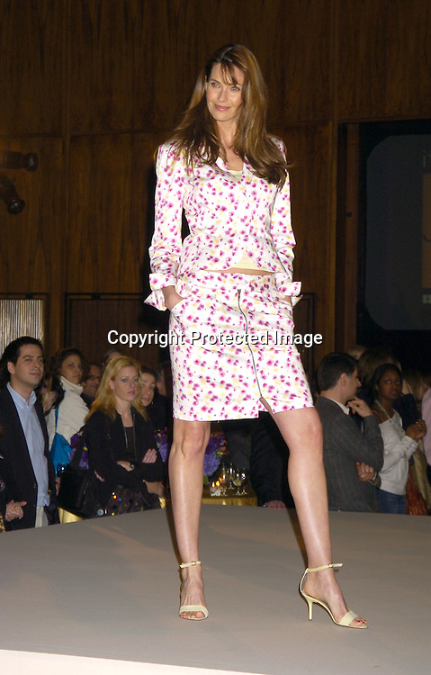 Carol Alt ..at the JC Penney Fashion Show of fashions called nicole by Nicole Miller on February 15, 2005 at The Four Seasons ..Restaurant.  JC Penney is sponsering the 77th Annual Academy Awards..Photo by Robin Platzer, Twin Images