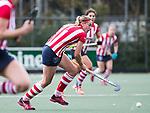 AMSTELVEEN - Pien van Nes (HDM). Hoofdklasse competitie dames, Hurley-HDM (2-0) . FOTO KOEN SUYK