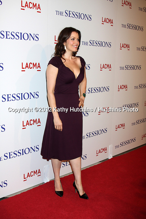 "LOS ANGELES - OCT 10:  Bellamy Young arrives at the ""The Sessions"" Los Angeles Premiere at Bing Theater at Los Angeles Museum of Art on October 10, 2012 in Los Angeles, CA"