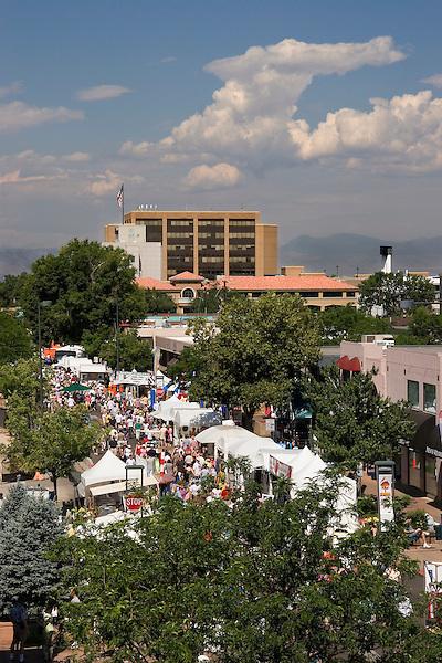 Cherry Creek Art Festival, Denver, Colorado, USA John offers private photo tours of Denver, Boulder and Rocky Mountain National Park.