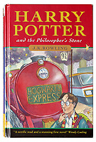 J.K Rowling inscribed first edition copy of Harry Potter and the Philosopher's Stone