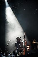 SAO PAULO, SP, 18.11.2016- SHOW-SP - A banda carioca O Rappa durante o show acústico oficina Francisco Brennand no Espaço das Américas , que fica no bairro da Barra Funda, zona oeste da capital paulista, na noite desta sexta-feira, 18. (Foto: Rogério Gomes/Brazil Photo Press)