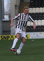 Gary Teale in the St Mirren v Ross County Clydesdale Bank Scottish Premier League match played at St Mirren Park, Paisley on 19.1.13.