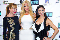 Marysol Patton, Alexia Echevarria, and Adriana De Moura attend Real Housewives of Miami Season 3 VIP Premiere Party, at Lou La Vie, Miami, FL, on August 6, 2013