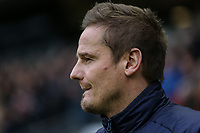 Neal Ardley (Manager) of AFC Wimbledon during the Sky Bet League 1 match between MK Dons and AFC Wimbledon at stadium:mk, Milton Keynes, England on 13 January 2018. Photo by David Horn.