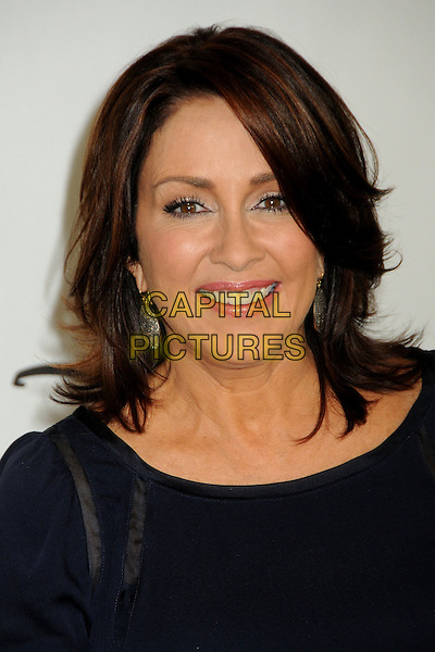 PATRICIA HEATON.Disney ABC Television Summer TCA Party 2010 held at The Beverly Hilton Hotel, Beverly Hills, California, USA..August 1st, 2010.headshot portrait black.CAP/ADM/BP.©Byron Purvis/AdMedia/Capital Pictures.