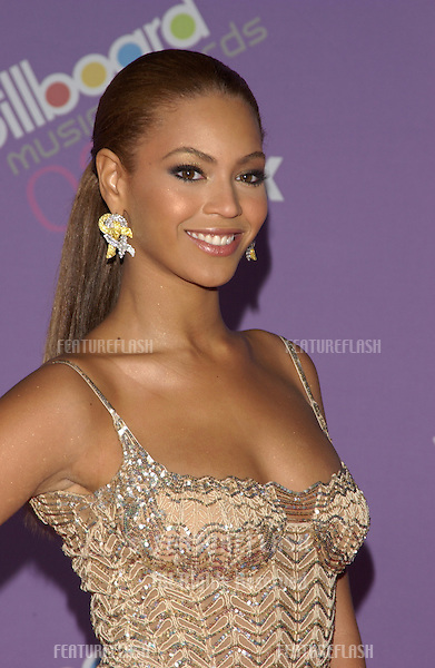BEYONCE KNOWLES at the 2003 Billboard Music Awards at the MGM Grand, Las Vegas..December 10, 2003