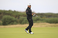 Jordan Smith (ENG) on the 14th during Round 4 of the Alfred Dunhill Links Championship 2019 at St. Andrews Golf CLub, Fife, Scotland. 29/09/2019.<br /> Picture Thos Caffrey / Golffile.ie<br /> <br /> All photo usage must carry mandatory copyright credit (© Golffile | Thos Caffrey)