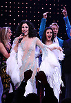 Stephanie J. Block, Teal Wicks and Michael Berresse during the Broadway Opening Night Curtain Call of 'The Cher Show'  at Neil Simon Theatre on December 3, 2018 in New York City.