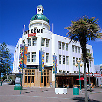 New Zealand, North Island, Napier: Art Deco Architecture | Neuseeland, Nordinsel, Napier: Art Deco Architektur