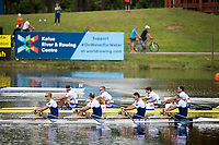 Sarasota. Florida USA.Final A GBR M4X.  Silver Nedalist, Bow Jack BEAUMONT, Jonny COLLINS, John COLLINS and Late Sub. Greame THOMAS. Medalist. Saturday  Final's Day at the  2017 World Rowing Championships, Nathan Benderson Park<br /> <br /> Saturday. 30.09.2017  <br /> <br /> [Mandatory Credit. Peter SPURRIER/Intersport Images].<br /> <br /> <br /> NIKON CORPORATION -  NIKON D500  lens  VR 500mm f/4G IF-ED mm. 200 ISO 1/1250/sec. f 6.3