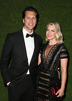 7 January 2018 -  Beverly Hills, California - Ali Larter, Hayes MacArthur,  75th Annual Golden Globe Awards_Roaming held at The Beverly Hilton Hotel. <br /> CAP/ADM/FS<br /> &copy;FS/ADM/Capital Pictures