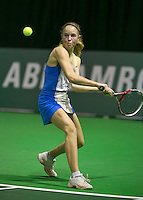 09-02-14, Netherlands,Rotterdam,Ahoy, ABNAMROWTT, Quatt tournament juniors, Sanne de Ruiter (NED)<br /> Photo:Tennisimages/Henk Koster