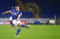 4th February 2020; Cardiff City Stadium, Cardiff, Glamorgan, Wales; English FA Cup Football, Cardiff City versus Reading; Will Vaulks of Cardiff City shoots at goal during the second half