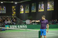 Rotterdam, Netherlands, 11 februari, 2017, ABNAMROWTT,  Final Supermatch, Bart Beks (NED)