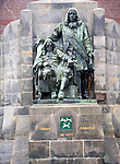 Johan and Cornelius de Witt statue Dordrecht, Netherlands