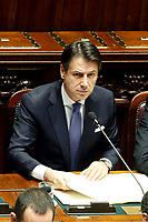 Giuseppe Conte<br /> Rome September 9th 2019. Lower Chamber. Programmatic speech of the new appointed Italian Premier at the Chamber of Deputies to explain the program of the yellow-red executive. After his speech the Chamber is called to the trust vote at the new Government. <br /> Foto  Samantha Zucchi Insidefoto