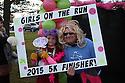 RUN:  2015 Girls On The Run Victory Wall