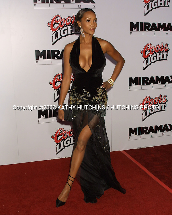 ©2003 KATHY HUTCHINS / HUTCHINS PHOTO.KILL BILL, PART 1 PREMIERE.GRAUMAN'S CHINESE THEATER.HOLLYWOOD, CA.SEPTEMBER 29, 2003..VIVICA A. FOX.