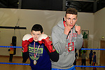 John Joseph Maughan (62 kg Winner) and Marko Savic (86 Kg Winner) at Drogheda Boxing Club, Moneymore...Photo NEWSFILE/Jenny Matthews..(Photo credit should read Jenny Matthews/NEWSFILE)