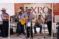 Honduran musical group performing in Santa Rosa de Copan, Honduras.