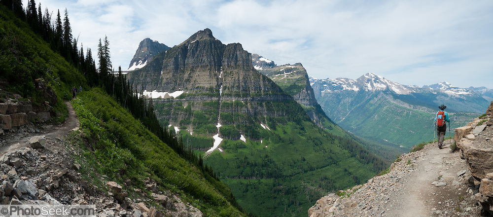 162c9dd9177f Hike the Garden Wall Trail from Logan Pass in Glacier National Park ...