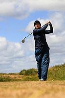 Una Marsden (Tullamore) during the 1st round of the Irish Women's Open Stroke Play Championship, Enniscrone Golf Club, Enniscrone, Co. Sligo. Ireland. 16/06/2018.<br /> Picture: Golffile | Fran Caffrey<br /> <br /> <br /> All photo usage must carry mandatory copyright credit (© Golffile | Fran Caffrey)