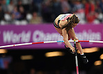 Eliza McCartney (NZL) in the womens pole vault. IAAF world athletics championships. London Olympic stadium. Queen Elizabeth Olympic park. Stratford. London. UK. 06/08/2017. ~ MANDATORY CREDIT Garry Bowden/SIPPA - NO UNAUTHORISED USE - +44 7837 394578