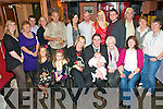 Baby Emily : Proud parents Linda & Fergus Flannagan, Listowel  celebrating the christening of their daughter Emily, with her sister Jane and family at Flannagan's Bar in Listowel on Subday last, Emily was christened in St. Mary's Church, Listowel by Fr. Declan O'Connor, PP. Listowel.Front: Amy O'Connor, Jane Flannagan, Linda Flannagn, Fergus Flannagan with Emily, Bridie Keane & Kate Flannagan. Back : Fionnula Flannagan, Josephine Lyons, Ray Lynch, Patricia Lyons, William Lyons, Kathleen Nolan, Kevin Lyons, Rita Casey, Kieran Flannagan, Mike Flannagan, Una O'Caroll & Maureen Leslie.