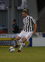 Marc McAusland in the St Mirren v Aberdeen Clydesdale Bank Scottish Premier League match played at St Mirren Park, Paisley on 9.11.12.