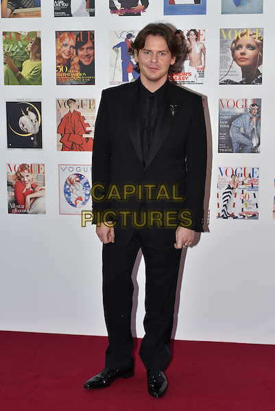 Christopher Kane at the Vogue100 anniversary gala dinner, British Vogue's centenary anniversary party, The East Albert Lawn in Kensington Gardens, Hyde Park, London, England, UK, on Monday 23 May 2016.<br /> &copy;PL/Capital Pictures