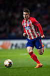 Kevin Gameiro of Atletico de Madrid in action during the UEFA Europa League 2017-18 Round of 32 (2nd leg) match between Atletico de Madrid and FC Copenhague at Wanda Metropolitano  on February 22 2018 in Madrid, Spain. Photo by Diego Souto / Power Sport Images