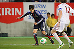 Atsuto Uchida (JPN), .FEBRUARY 6, 2013 - Football / Soccer : .KIRIN Challenge Cup 2013 Match between Japan 3-0 Latvia .at Home's Stadium Kobe in Hyogo, Japan. .(Photo by Akihiro Sugimoto/AFLO SPORT)